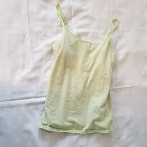 Justice Bright Green Tank Top